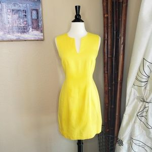 Vintage Laundry by SS ~ Yellow V-Cut Dress ~ Sz 6